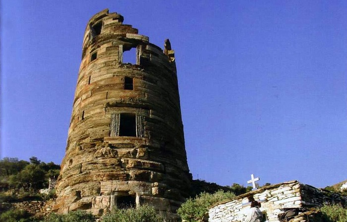 Built during Hellenistic period, Tower of Agios Petros is a reminder of historical changes in Andros Island!