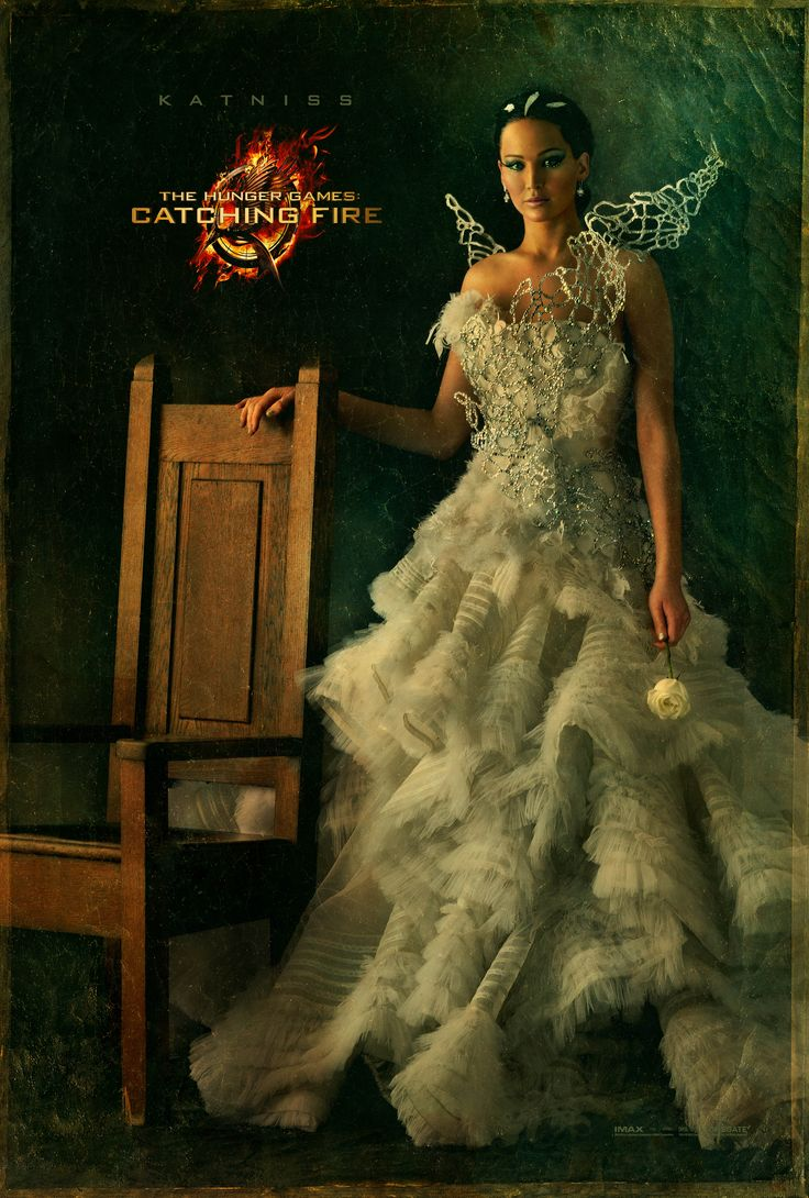 Best  uHunger Games Catching Fire u Portraits Katniss Everdeen Jennifer Lawrence This series is amazing literary speaking but the costume designs for the
