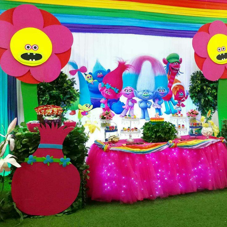 216 Best Trolls Fiesta Temtica Images On Pinterest