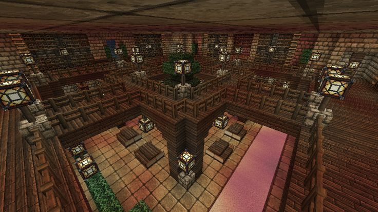 Library Room Minecraft