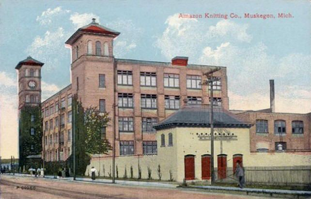 Chicago Knitting Mills : Following the collapse of muskegons lumber industry in