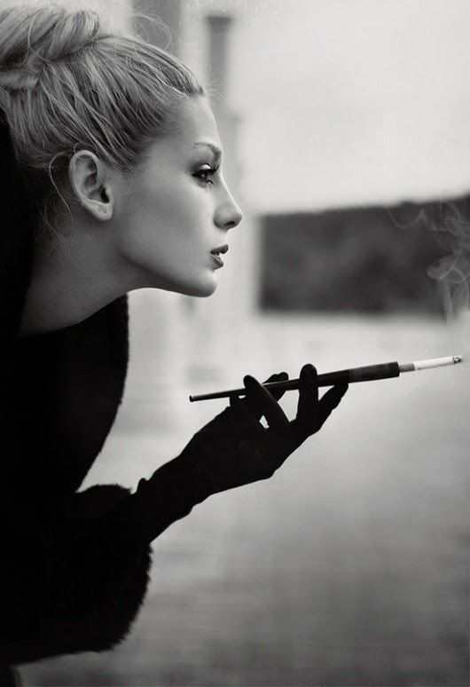 cigarette holder. Its gross but I have a dream to smoke a cigarette on a holder with the eiffel tower in the background and contimplate life.
