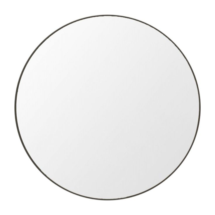 Shop Modern Mirrors Online or Visit Our Showrooms To Get Inspired With The Latest Homewares From Middle of Nowhere - Flynn Round Mirror (Black)