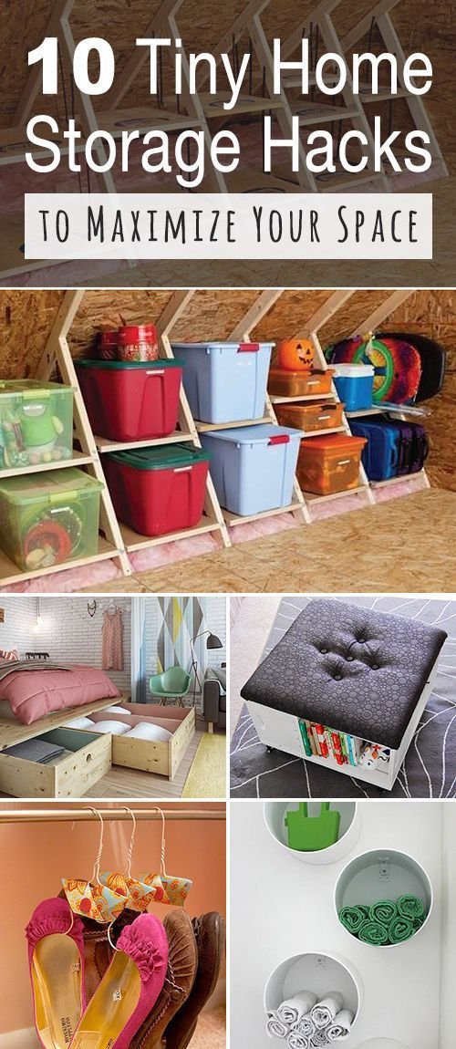 Best Diy Crafts Ideas For Your Home : 10 Tiny Home Storage Hacks to Maximize Your Space!  If you have a tiny home