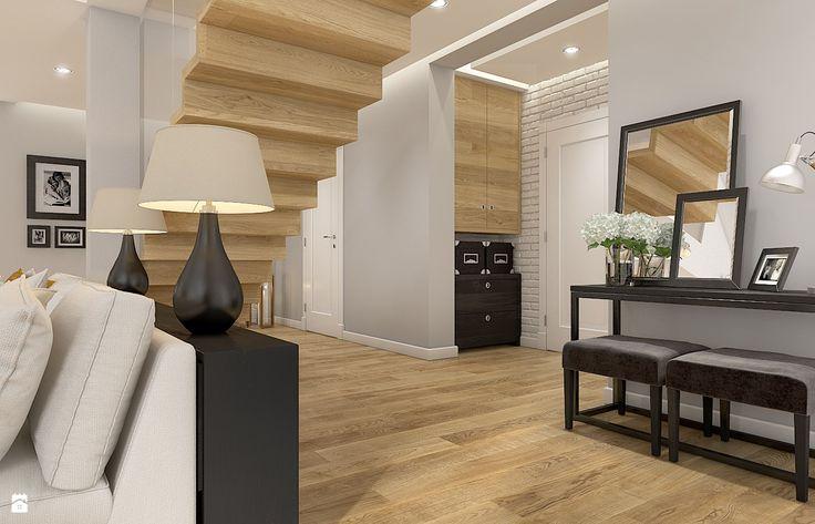 Dom w Milanówku - zdjęcie od WERDHOME - Hol / Przedpokój - Styl Skandynawski - WERDHOME