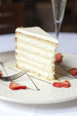 Peninsula Grill's Ultimate Coconut Cake, a recipe by Claire Chapman. Photo from Peninsula Grill.