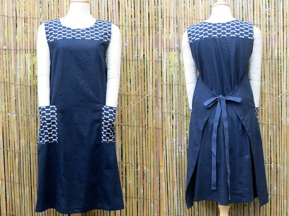 Women's wrap dress Linen clothing Traditional by LinenStudioB
