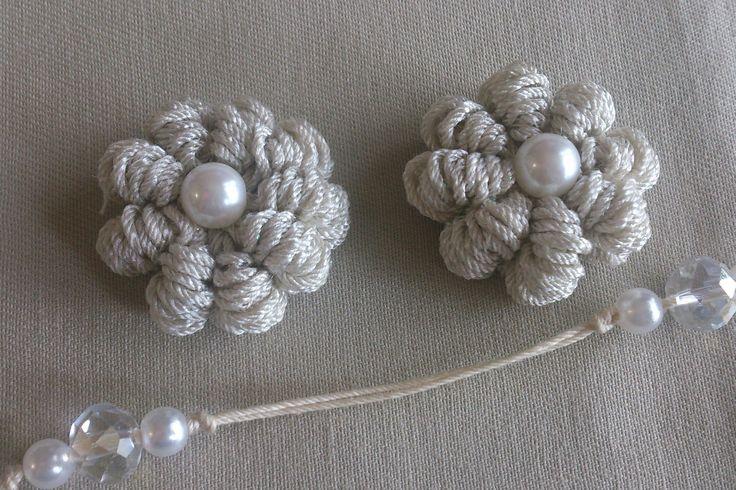 バリオンクロッシェ のお花の編み方                                                                                                                                                                                 もっと見る