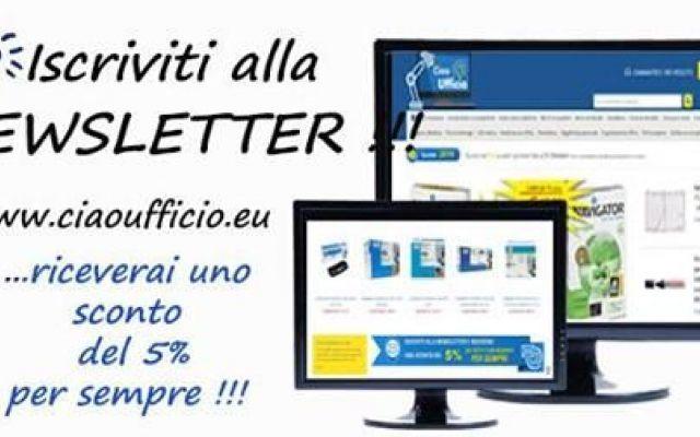 Articoli per il tuo ufficio? Iscriviti alla Newsletter e riceverai uno sconto a vita! #ufficio #cancelleria #informatica #office