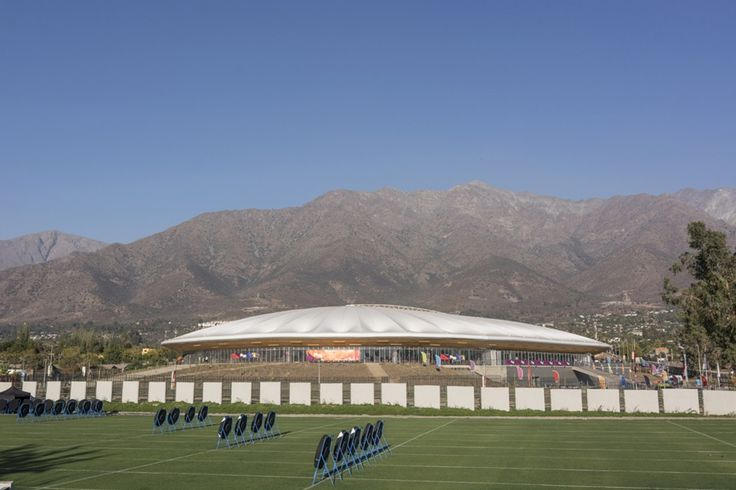 Peñalolen Velodrome / Iglesis Prat Arquitectos - Chile