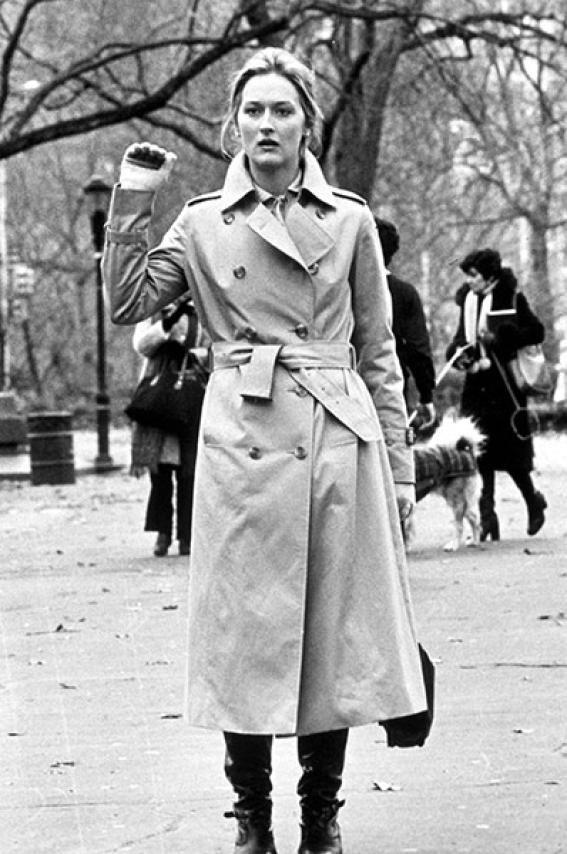 Meryl Streep in Kramer vs Kramer. #MKSpring Inspiration #AllAccessKors