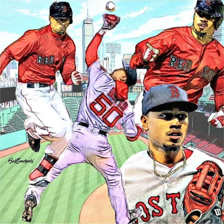 Mookie Betts OF - Boston Red Sox.
