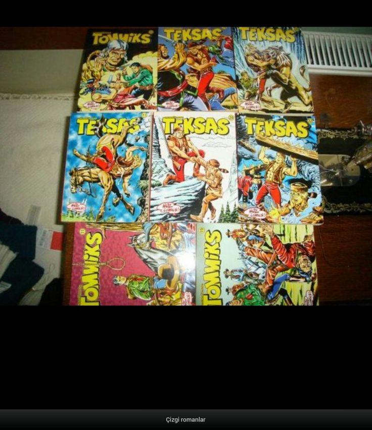Çizgi romanlar/comics