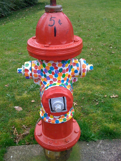 bubblegum machine hydrant