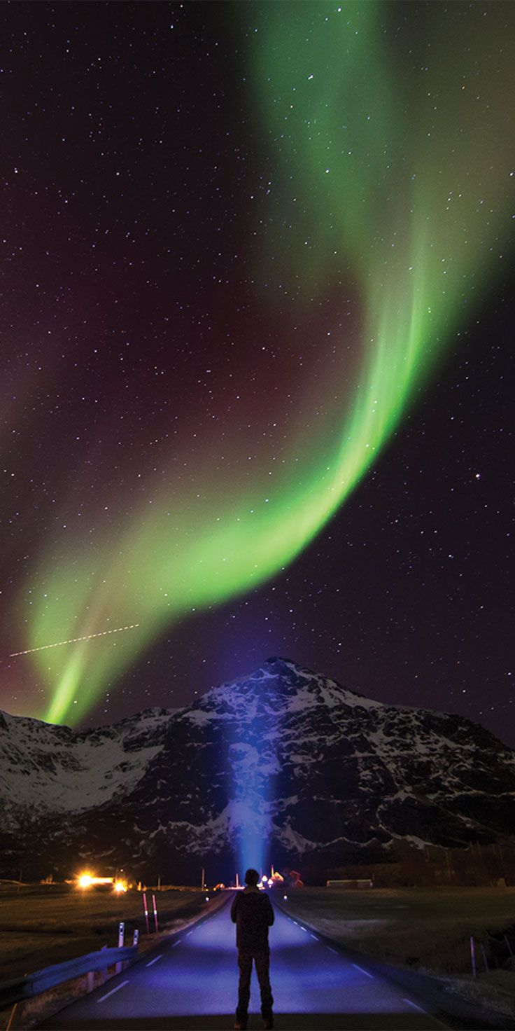 Northern Lights putting on a show in Norway - by Sean Scott