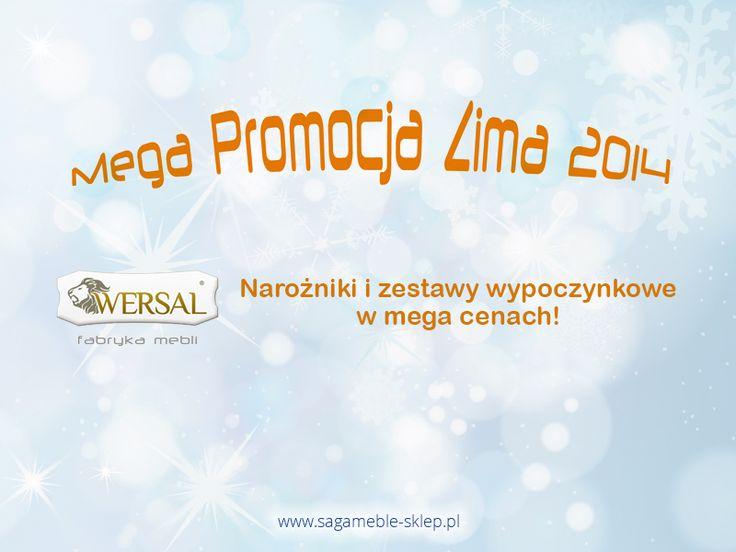 Na weekend mamy dla Was coś wyjątkowego :) Poprzednia promocja na narożniki do spania i zestawy wypoczynkowe świetnie się sprawdziła, więc rozpoczynamy drugą turę!  http://sagameble-sklep.pl/636-mega-promocja-zima-2014-w-wersal