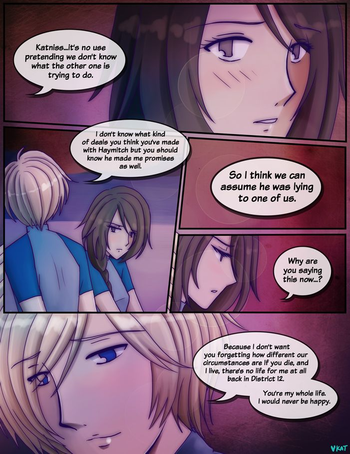Hunger Games: Quarter Quell beach scene pg 01 by fortykoubuns.deviantart.com on @deviantART