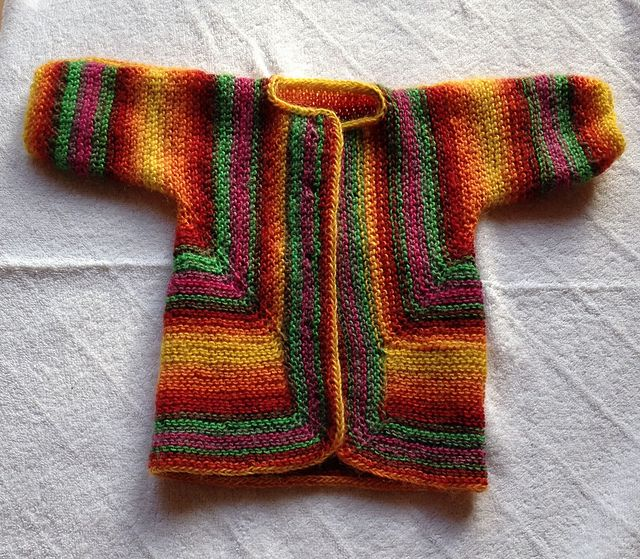 Crochet Surprise Jacket Free Pattern : 23 best images about Elizabeth Zimmermanns Baby Surprise ...