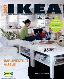 Catalogul IKEA 2007, 284 de pagini și nenumărate idei pentru împlinirea viselor.