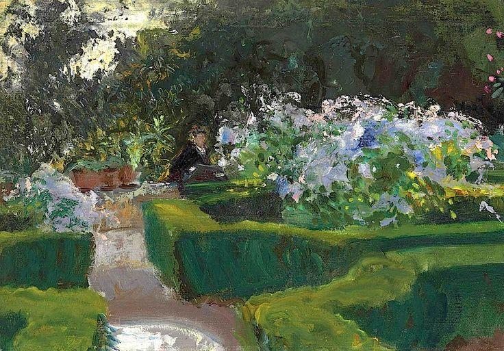 JOHN SINGER SARGENT / Garden At Granada