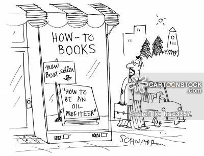 How to books - How to be an oil Profiteer.