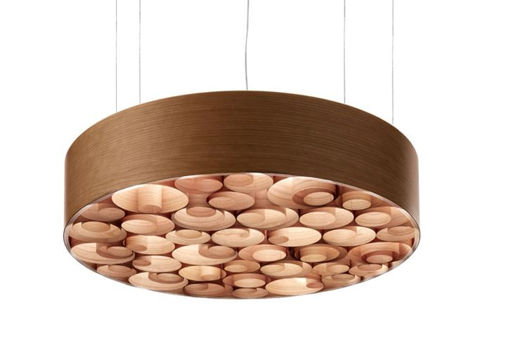 Spiro suspension lamp by Remedios Simon for LZF