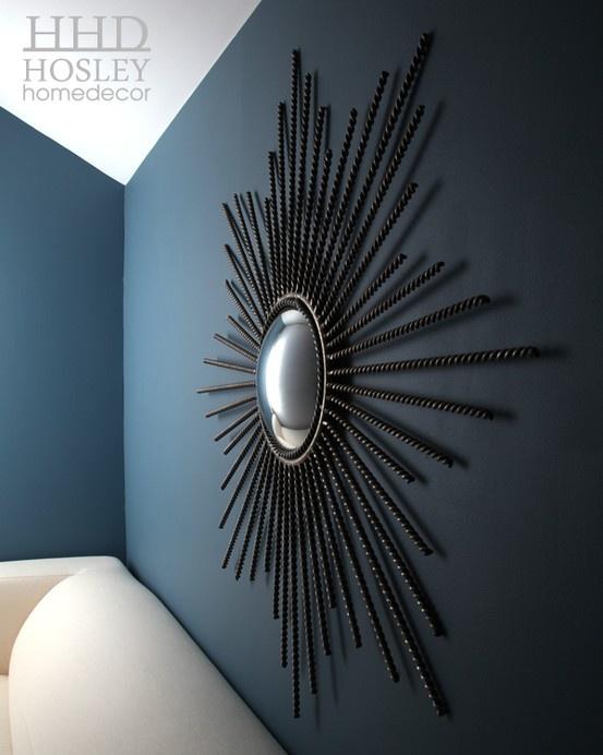 Starburst Mirror + Wall Colour