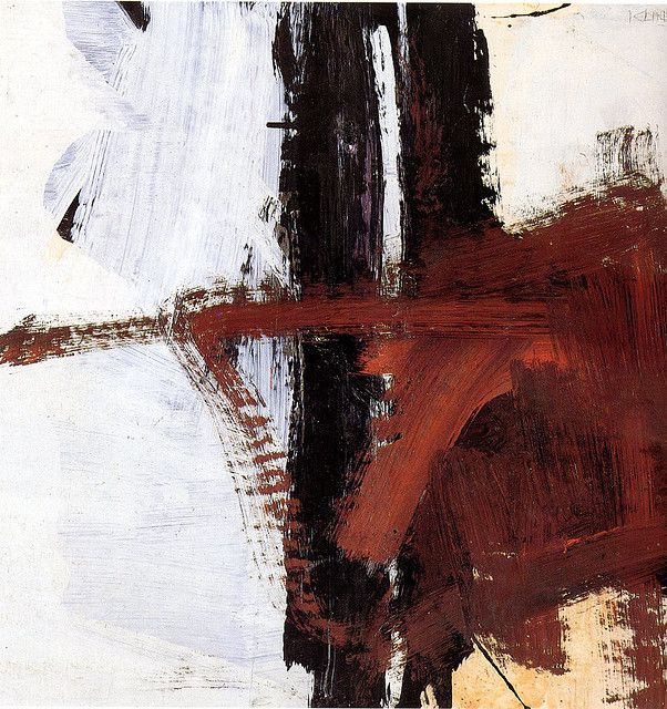 Franz Kline (1910~1962) was an American painter mainly associated with the abstract expressionist movement centered around New York in the 1940's~1950's.
