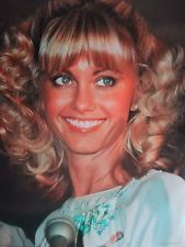 Olivia Newton John Poster Original 1980' RARE