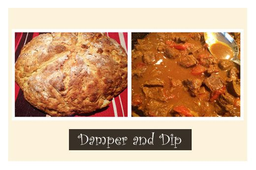 Damper and Dip: An Aboriginal Tradition #recipe