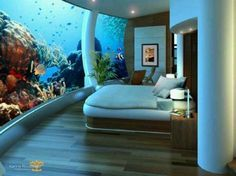 Underwater Hotel in Fiji! My Dream Vacation Spot! This looks amazing!!!!