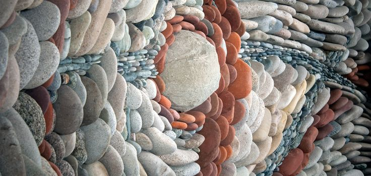Red stone woven into the tapestry... I could gaze at this for hours! @Misty DeLong Art of Stone