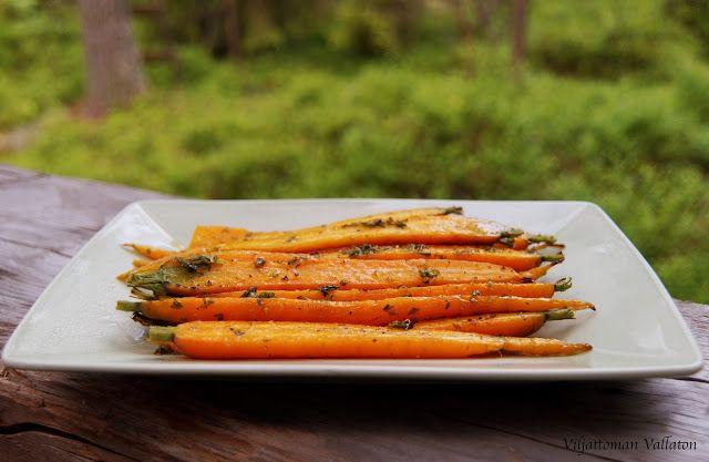 Viljattoman Vallaton: Uuden sadon porkkanat