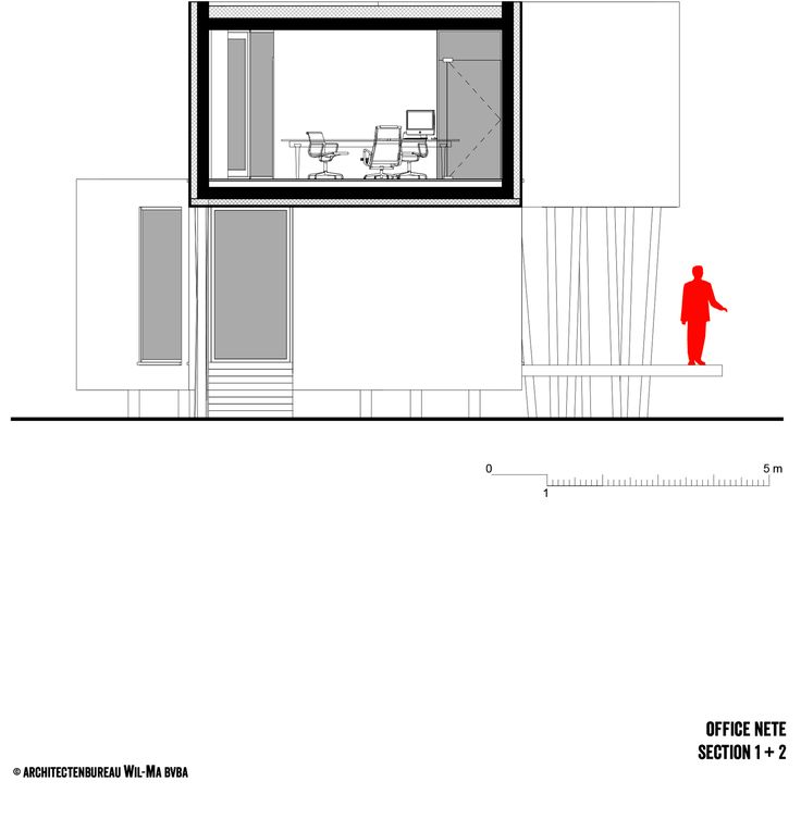 Contemporary Office NETE Westerlo, Belgium 26 -