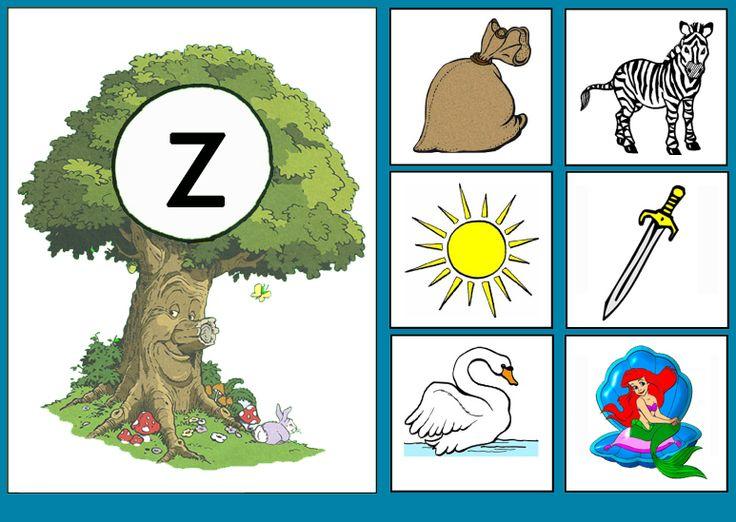 Letterkaart Z
