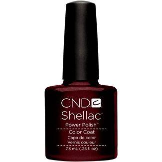 VanityFair.it: Strega comanda colore...  CND Shellac in Dark Lava