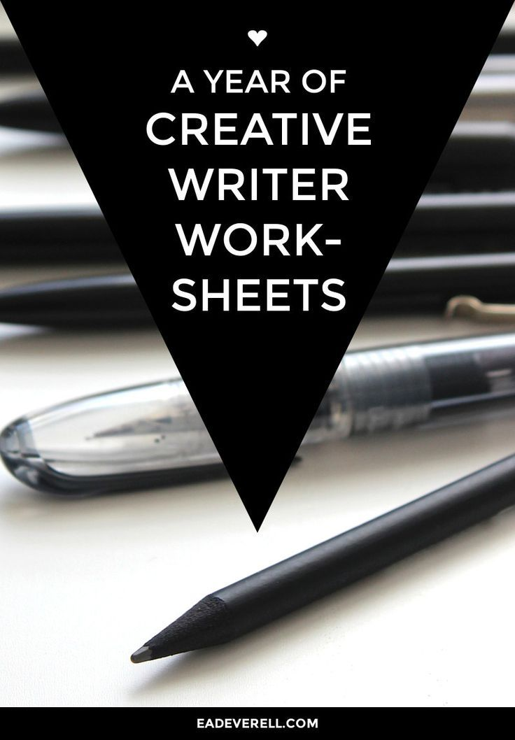 This year's writing worksheets are aimed at exploring what it means to be a writer > http:∕∕eadeverell.com∕creative-writing-worksheets∕?utm_content=buffer3d601&utm_medium=social&utm_source=pinterest.com&utm_campaign=buffer #writing #nanowrimo