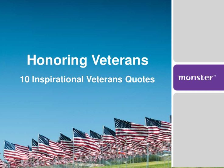 1000+ Veterans Quotes On Pinterest