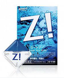 Rohto Z! Глазные капли от усталости глаз,с витамином B6, 12мл купить по низкой цене в интернет магазине