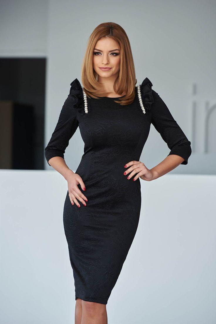 StarShinerS Angel Black Dress