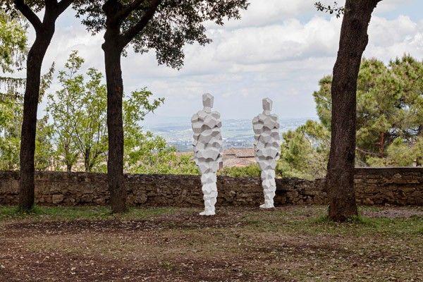 Antony Gormley, Galleria Continua San Gimignano. Photo by Ela Bialkowska.