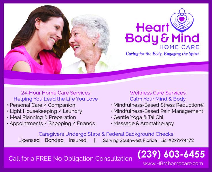 Heart body mind home care 24hour senior home care