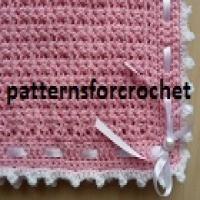Free Crochet Pattern Pram Blanket : 1000+ ideas about Pram Blankets on Pinterest Vintage ...