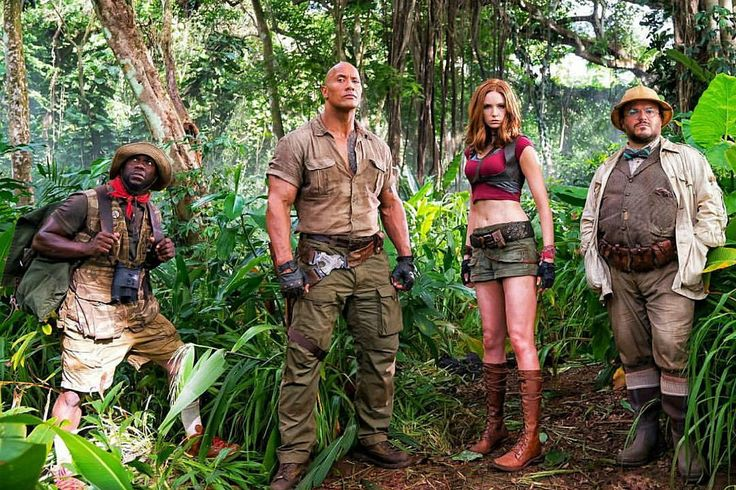 Of Course They Used 'Welcome to the Jungle' in The Rock's 'Jumanji' Trailer Teaser