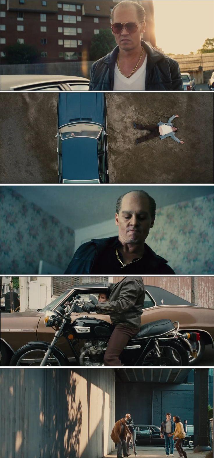 Aliança do Crime (2015), melhor filme do Johnny Depp, uma obscura lealdade entre um agente do FBI e um gângster implacável.