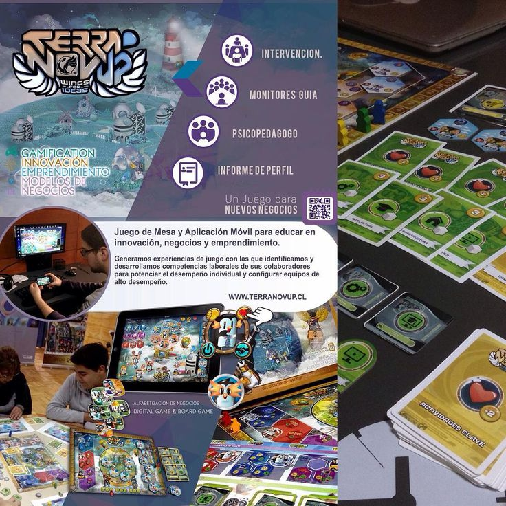 """""""#terranovup Serious game #gamification business model canvas education"""""""