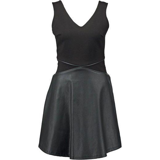 NAF NAF PEARL  Sukienka letnia black zalando szary rozkloszowane