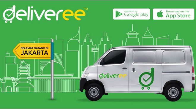 Deliveree, Layanan Mobil Kurir Online Asal Thailand Resmi Masuk Jakarta! | BINTOM