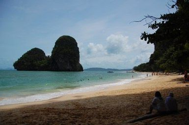 Thailand Vacation: Picturesque Railay is a great place to begin a Thailand vacation.