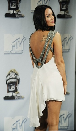 megan fox prom dress